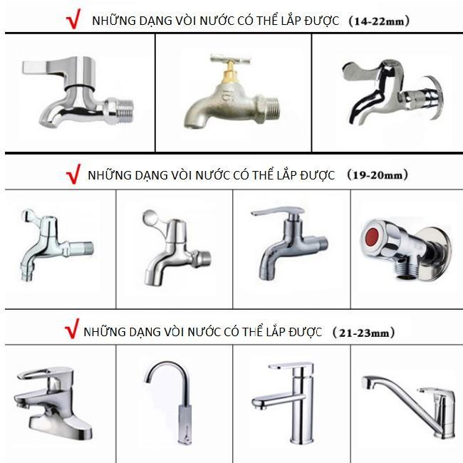 Bộ dây và vòi xịt rửa xe tưới cây tăng áp,vòi xịt rửa,vòi tưới cây 810-2621 (dây xanh dẹt- cút nối đồng)