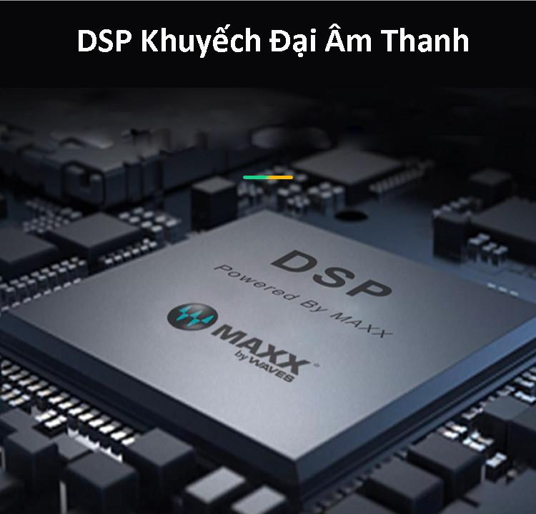Loa Bluetooth 40W công suất lớn Super Bass chống nước IPX7 pin 6600MAH sạc nhanh Type C công nghệ AI Hàng Chính Hãng PKCB03