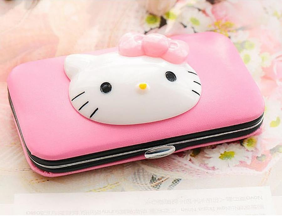 Bộ Kiềm Cắt Móng Tay Mèo Hello Kity Dễ Thương Nhỏ Gọn - MP028