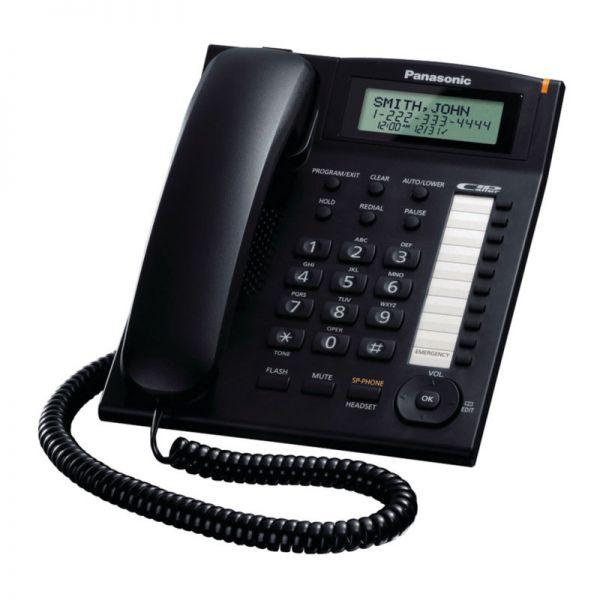 Điên thoai Cô đinh Panasonic KX-TS880MX - Đen - Hàng chính hãng