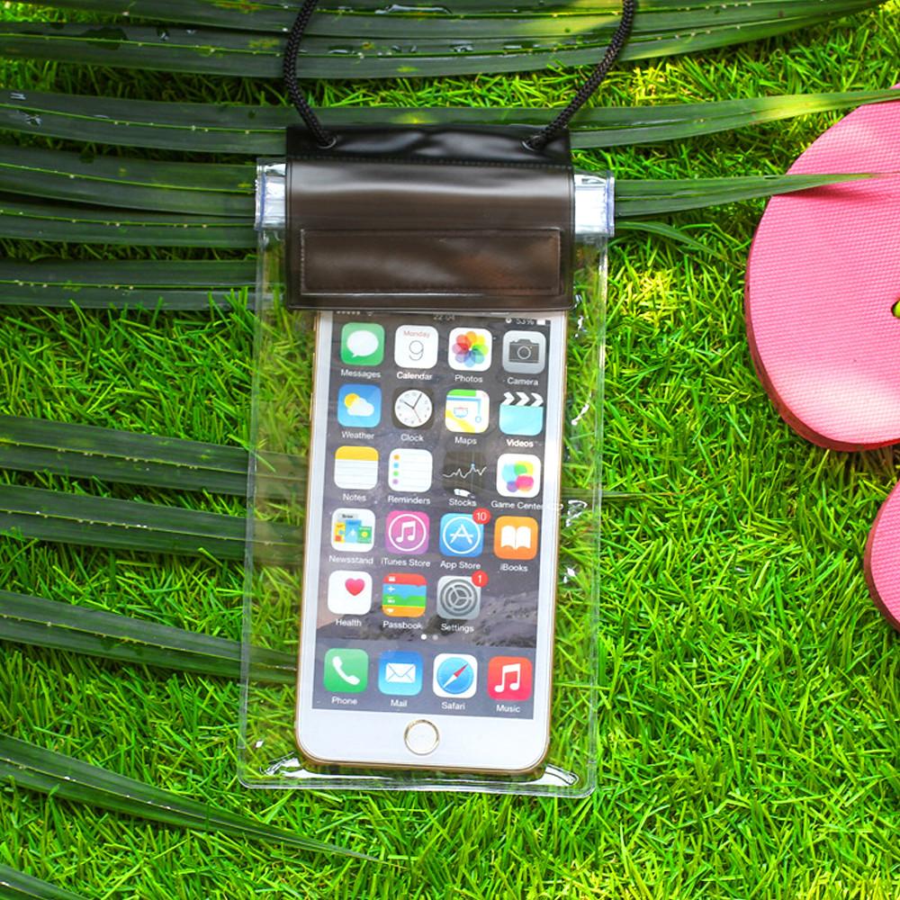 Túi chống nước, bảo vệ điện thoại, smartphone - Giữ điện thoại không bị dính nước khi đi mưa, đi bơi, đi biển - Giao màu ngẫu nhiên - Hàng Chính Hãng