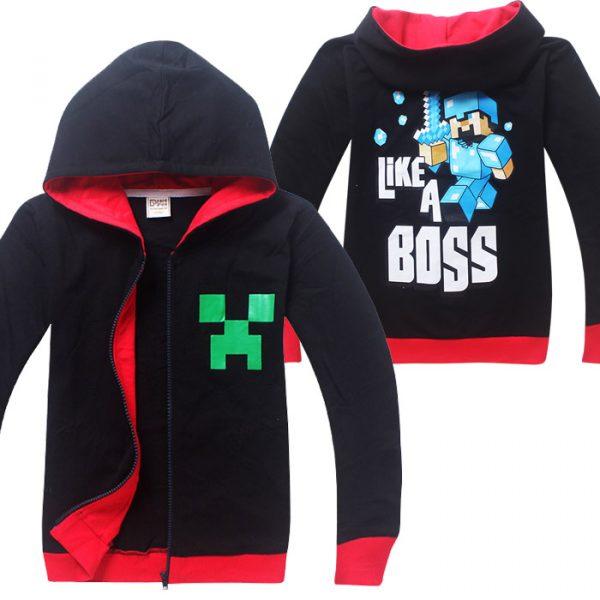 Áo khoác Minecraft Like a Boss - 150