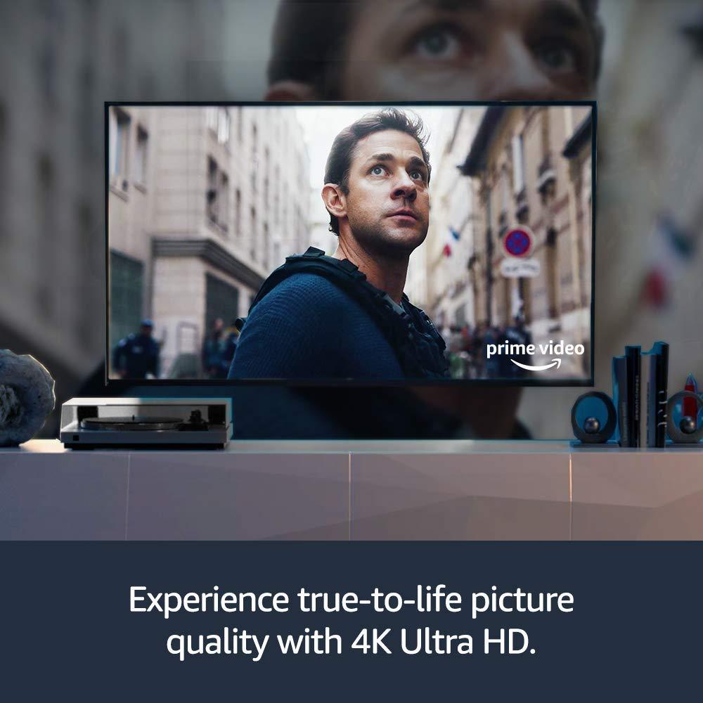 Amazon Fire TV Stick 4K kèm Điều khiển giọng nói Alexa - Hàng Nhập Khẩu