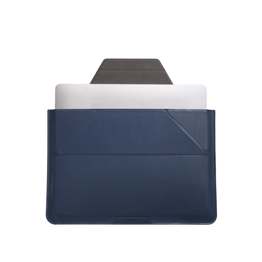 Túi Da Kiêm Giá Đỡ Biến Hình 3 Trong 1 Cho Laptop MOFT Carry Sleeve Size Lớn 16inch - MB002-1-1516-BN- Hàng Chính Hãng