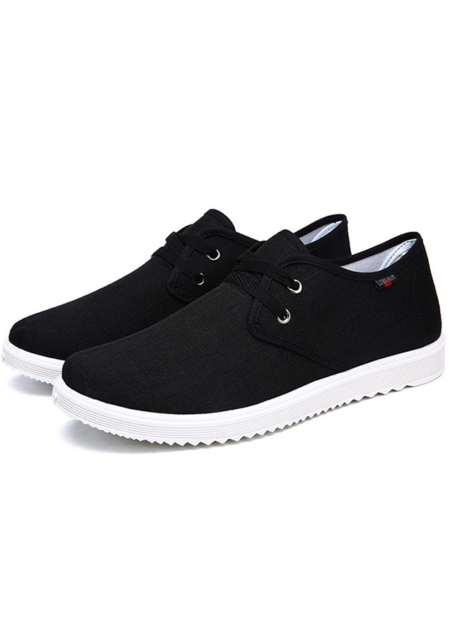 Giày Sneaker Nam Chất Vải Jeans Cao Cấp TN97 - Đen
