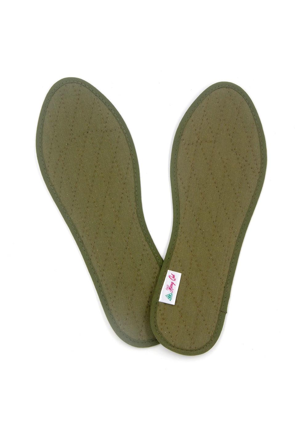 Lót giày quế vải cotton Hương Quế CI-14 làm từ vải cotton - bột quế giúp hút ẩm - khử mùi - phòng cảm cúm và cải thiện sức khoẻ