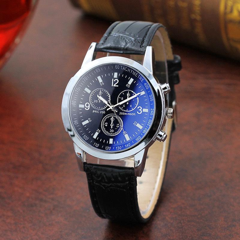 Đồng hồ đeo tay nam dây da lịch lãm ZO101 phong cách Hàn Quốc