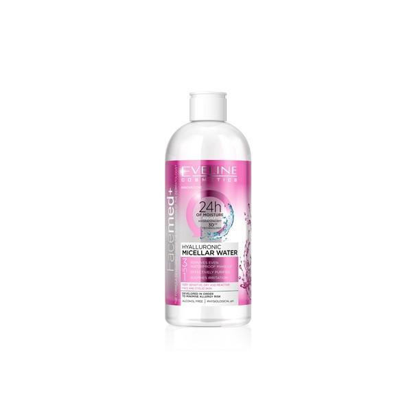Nước tẩy trang dưỡng ẩm FACEMED cho da khô nhạy cảm 400ml