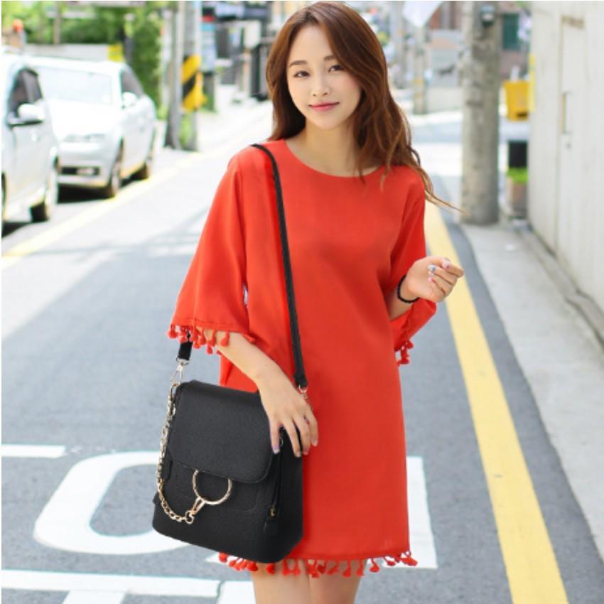 Túi nữ thời trang phong cách Hàn Quốc 2 trong 1 208100