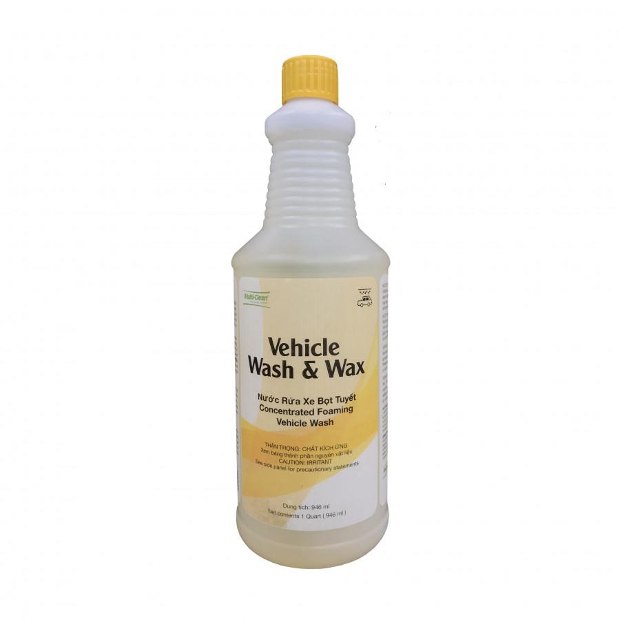 Nước Rửa Xe Bọt Tuyết Multiclean Vehicle Wash &Wax