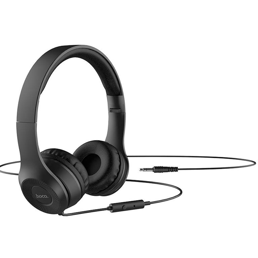 Tai Nghe Bluetooth Chụp Tai Hoco W21 + Tặng Gía Đỡ Điện Thoại - Chính Hãng