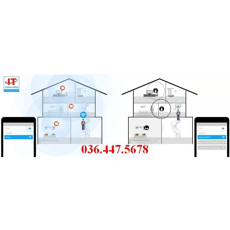 Bộ phát wifi Tenda Nova MW6 3 Pack - Hàng Chính Hãng