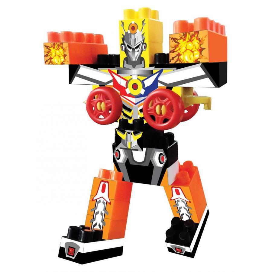 Bộ Đồ Chơi Xếp Hình Robot Siêu Đại Chiến Antona   Bibebo Kids