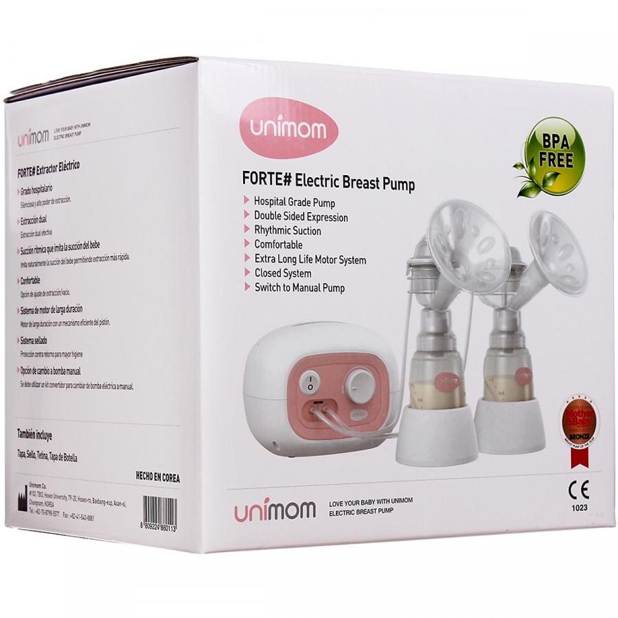 Máy Hút Sữa Unimom Forte Có Matxa Silicone UM880113