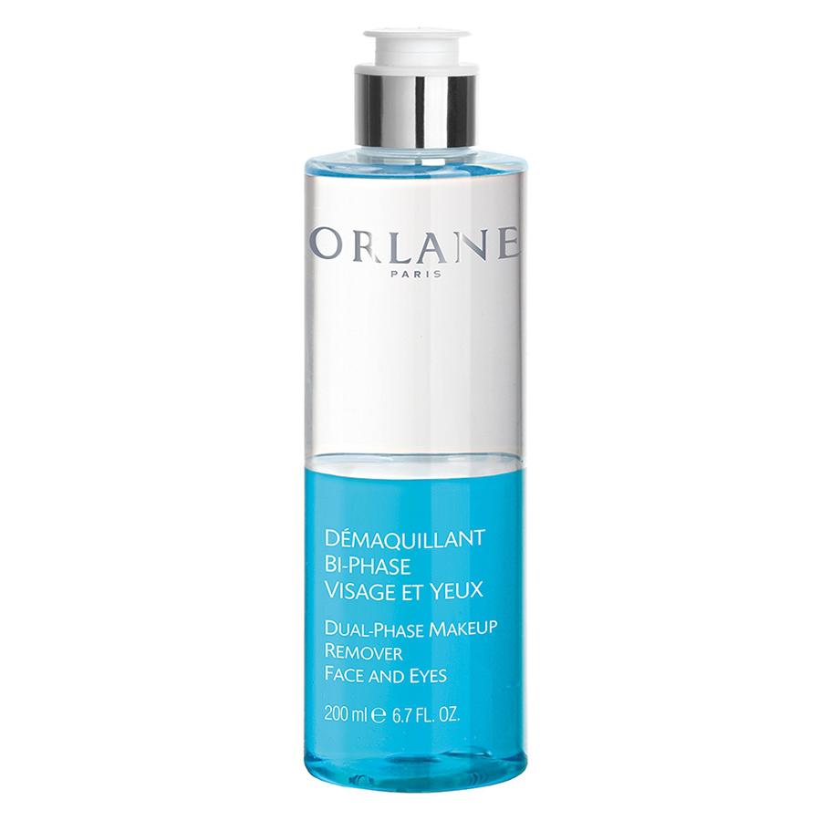 Tẩy trang và rửa mặt Orlane 2 trong 1 chuyên dùng cho cả mặt và mắt Dual-Phase Makeup Remover Face And Eyes 200ml