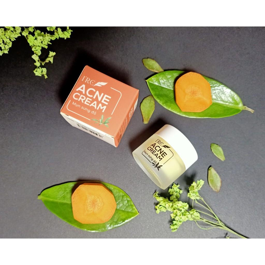 Kem mụn sưng đỏ Acne Cream IRC mụn giảm thâm, tái tạo da mới sạch khuẩn, không tái viêm 10g