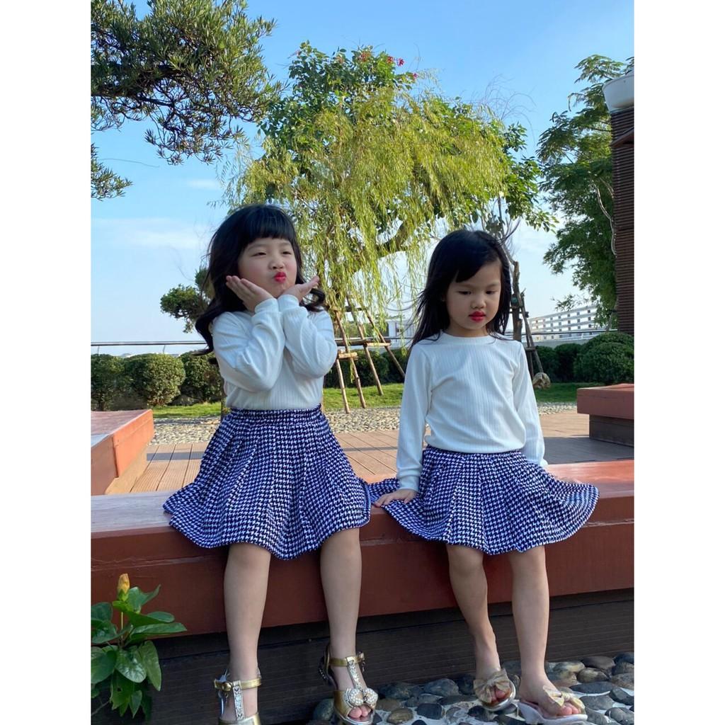 Thu đông 2020: Chân váy sếp ly thương hiệu Litibaby size 1 -11, dành cho bạn từ 9kg đến 33kg