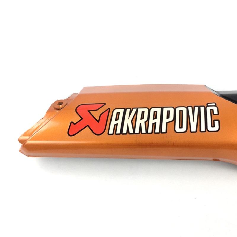 Ốp pô dành cho xe số Winner 150 (màu cam)