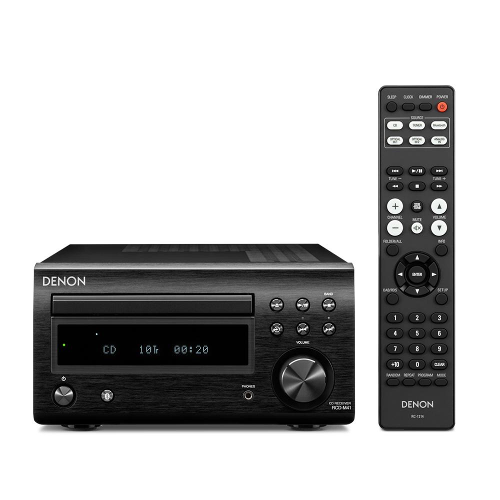 Dàn nghe nhạc CD Mini DENON D M41 - Hàng chính hãng