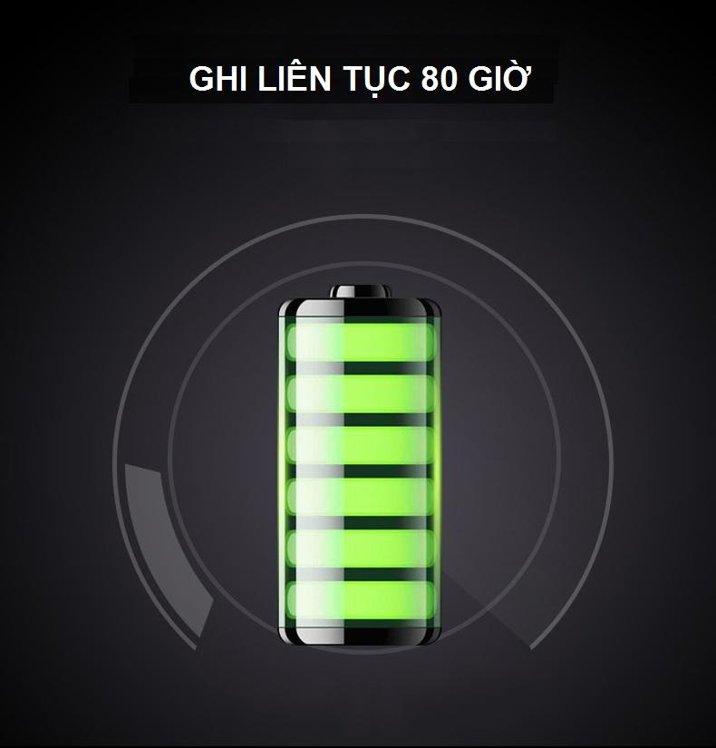 Máy Ghi Âm Chuyên Nghiệp Cao Cấp HG-500 Bộ Nhớ Trong 8GB AZONE