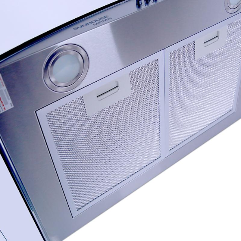 Máy hút mùi kính cong Sunhouse Mama MM6719-70 - Hàng chính hãng