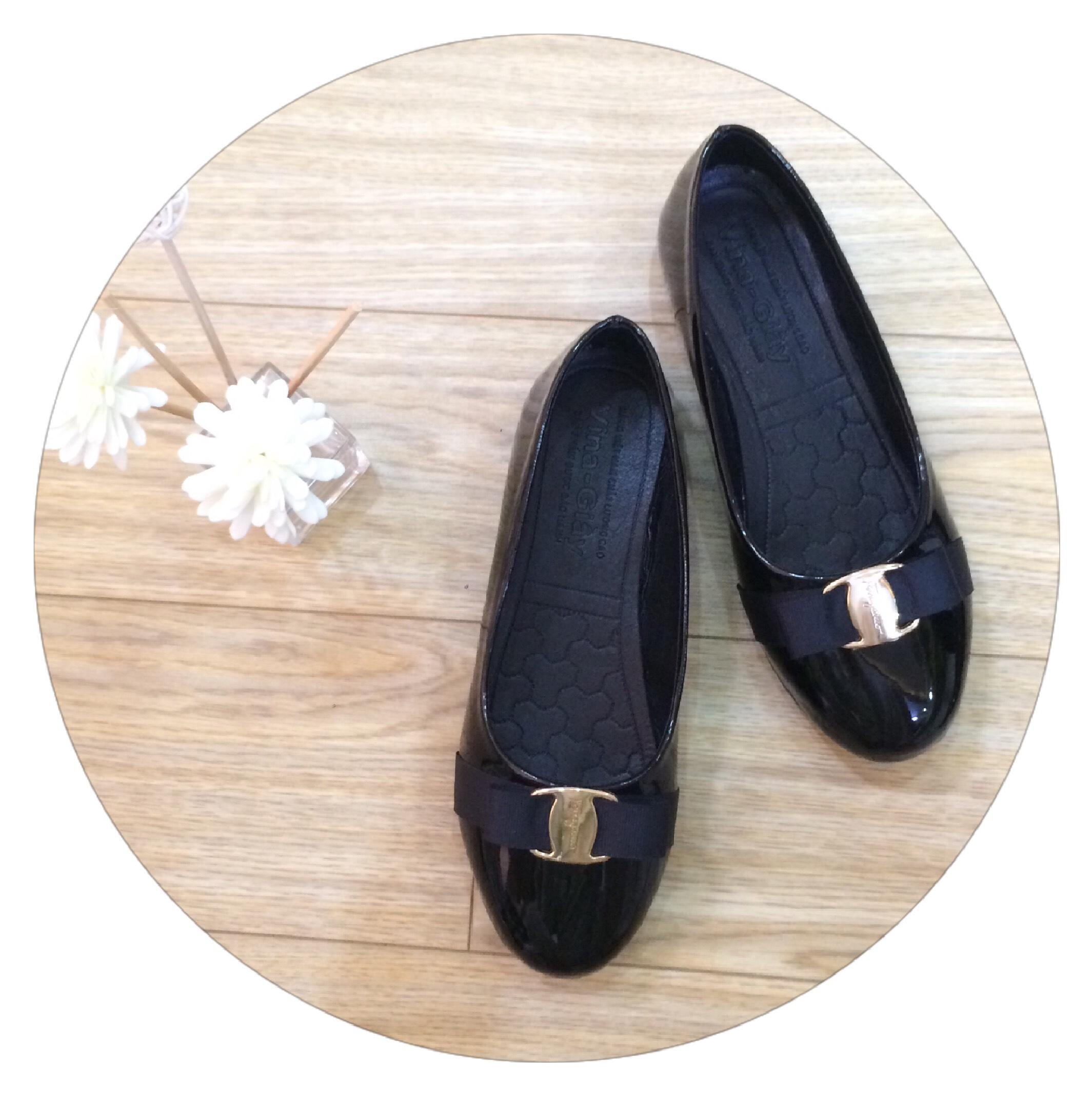 Giày búp bê nữ đế bằng đính nơ xinh xắn hàng  siêu bền-M15