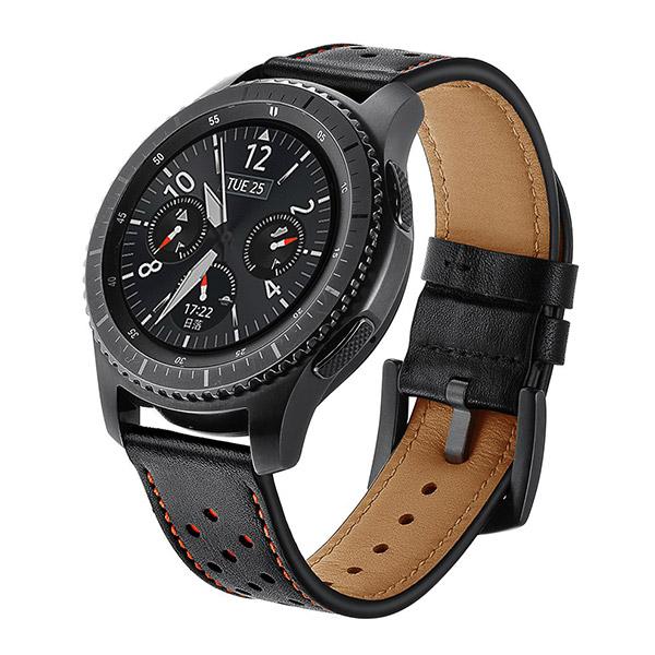 Dây da cho Samsung Gear , Galaxy Watch, Ticwatch Pro, Huawei watch GT , GTR  size 22mm
