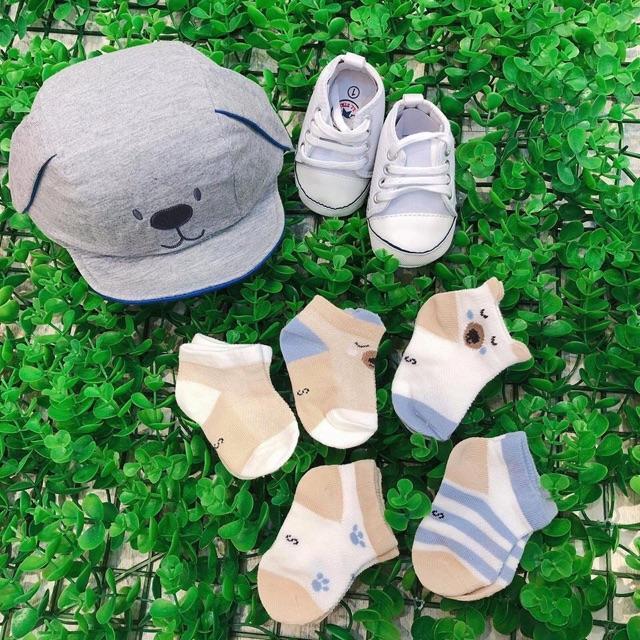 Sét 5 Đôi Tất Lưới Kids Socks Loại Đẹp