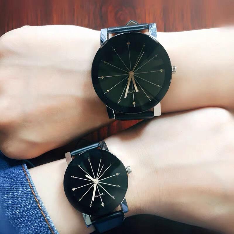 Đồng hồ nam nữ thời trang đa giác độc đáo siêu đẹp phong cách Hàn Quốc ZO95