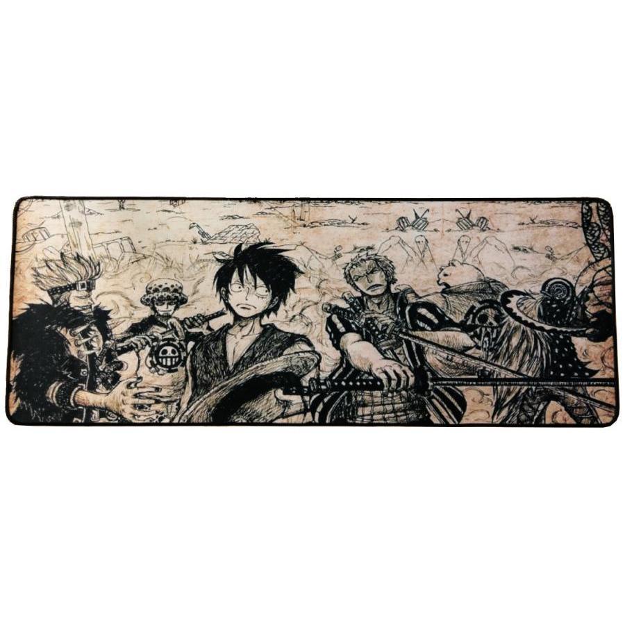 Miếng Lót Chuột Chơi Game One Piece (80 x 30cm)