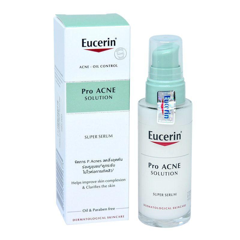 Serum Hỗ Trợ Điều Trị Mụn Eucerin ProAcne Solution Super Serum 30ml