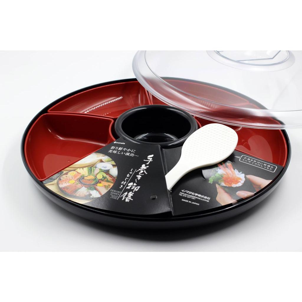 Khay chia ngăn đa năng - Đựng đồ ăn, bánh kẹo - Hàng nội địa Nhật Bản -  Khay mứt Thương hiệu INOMATA