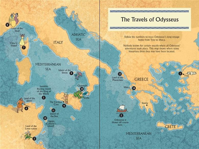 Usborne The Odyssey