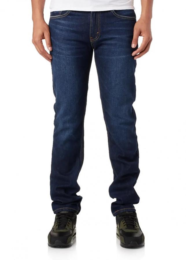 Quần jean nam cao cấp nhập nhẩu LE511 slimfit dáng body màu xanh đậm - Xanh đậm - 31