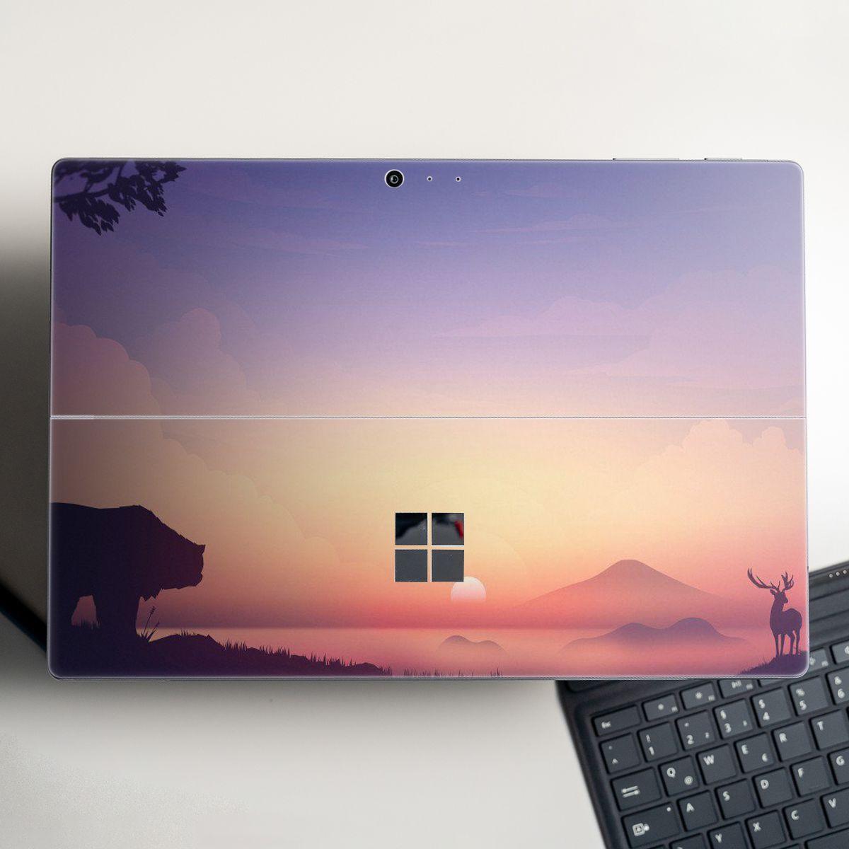 Skin dán hình thiên nhiên cho Surface Go, Pro 2, Pro 3, Pro 4, Pro 5, Pro 6, Pro 7, Pro X