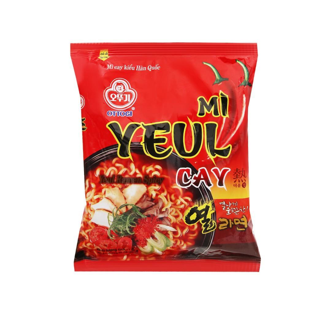 Thùng 20 gói mì Yeul cay Ottogi 120g
