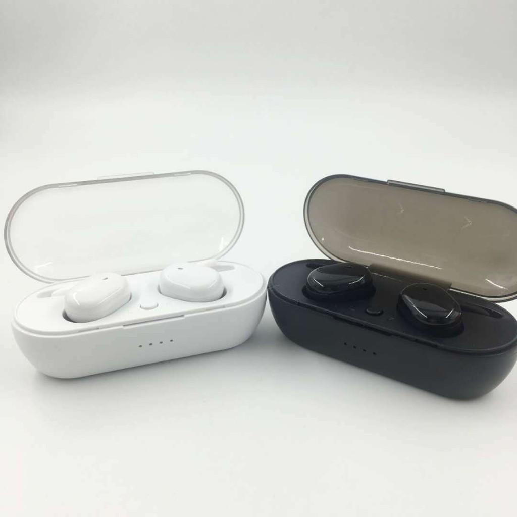 Tai nghe Bluetooth không dây TWS4 ST-W V5.0 dùng cho iphone, android có mic chống ồn, kiểu dáng thể thao TN13