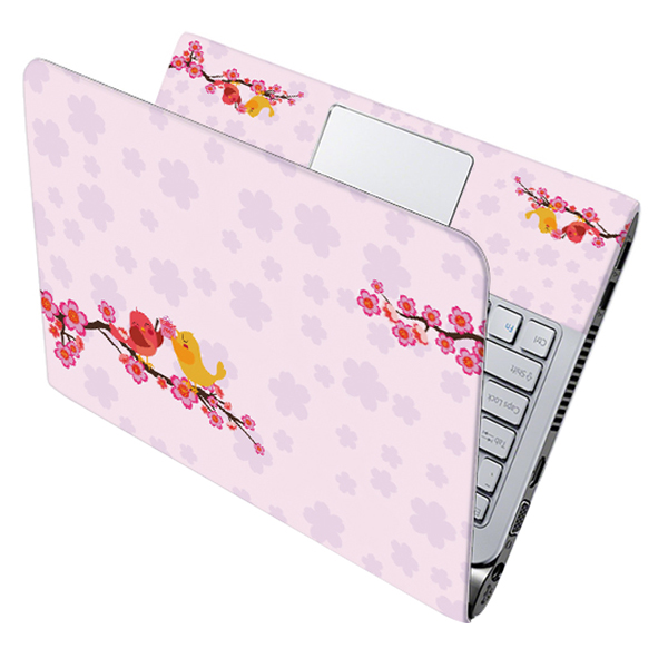 Mẫu Dán Decal Hoa Văn Trang Trí Laptop LTHV-220