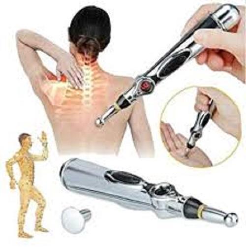 Bút châm cứu 3 đầu điều trị Đau cơ xương khớp, đau nhức do phong thấp, Đau khớp, Đau lưng, Đau bụng, Đau thần kinh, Đau thắt lưng và lưng, Đau vai, Đau cổ và đau chân,…+ Tăng kèm pin+ tặng quà ngẫu nhiên