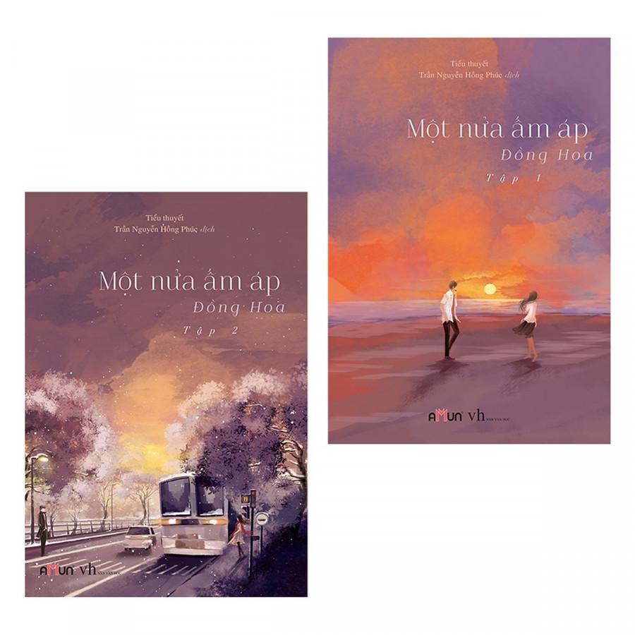 Combo sách tiểu thuyết hay nhất: Một Nửa Ấm Áp (Trọn Bộ 2 Tập) ( Tặng kèm Bookmark Happy Life)