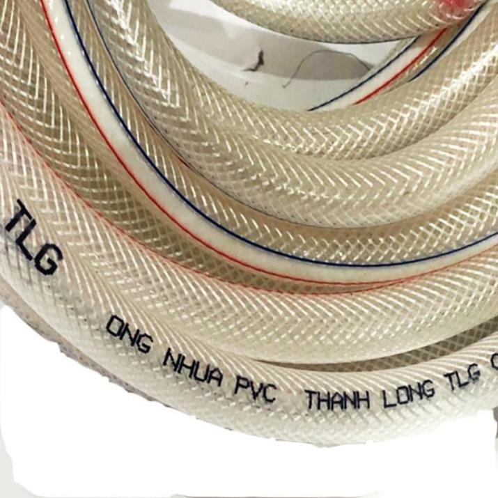 Bộ dây và vòi xịt tăng áp lực nước 300% rửa xe tưới cây 236498 - dây trắng