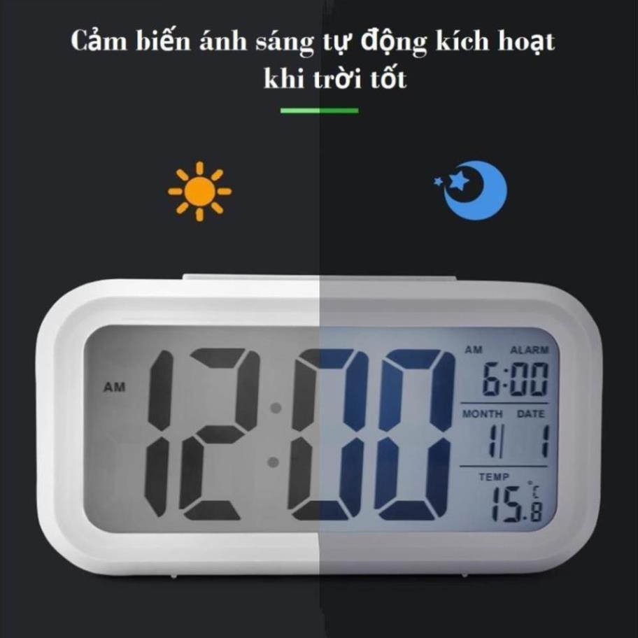 Đồng hồ led để bàn,Đồng Hồ LCD Led Để Bàn HD51 - HL1010 ()
