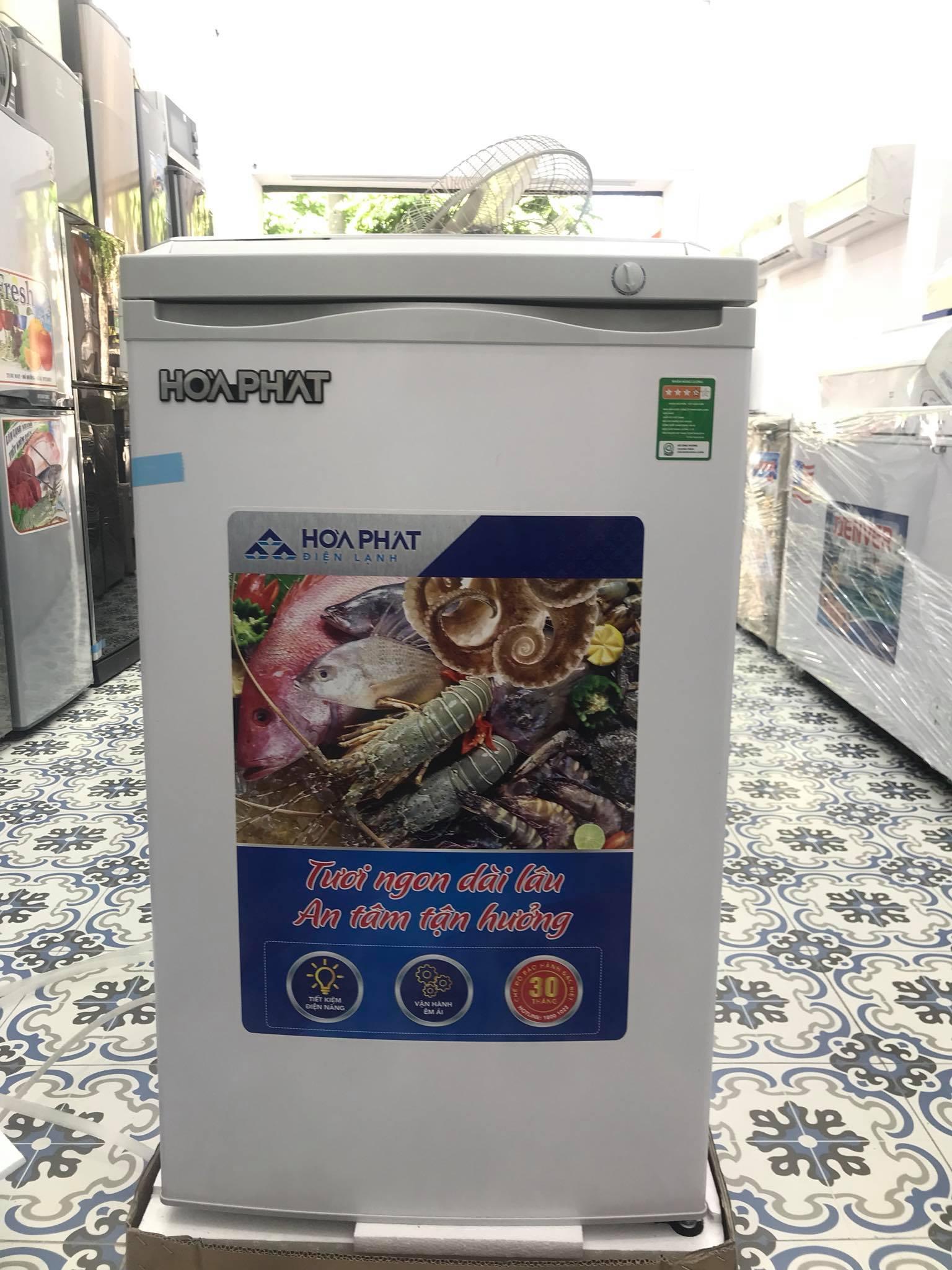 Tủ đông đứng Hòa Phát 106l 4 ngăn HUF 300SR1 - Hàng chính hãng