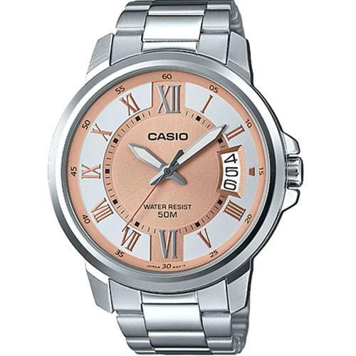 Đồng hồ Casio MTP-E130D-9AVDF dây kim loại