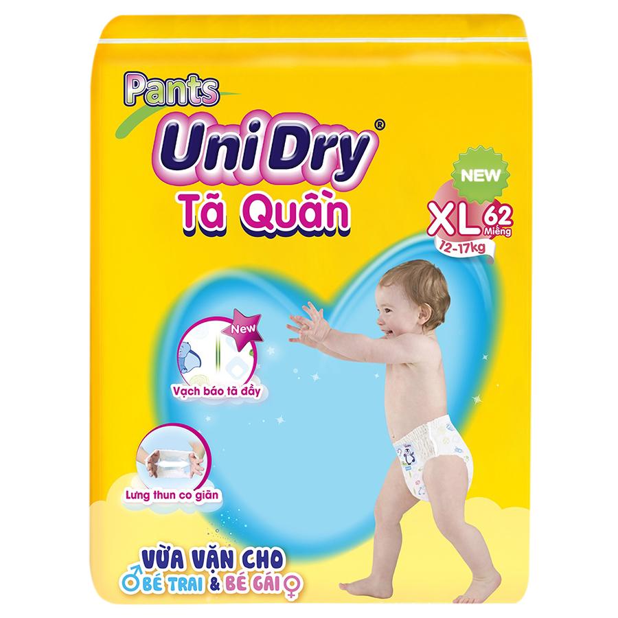 Hình ảnh Tã Quần Unidry Ultra Jumbo XL62 (62 Miếng)