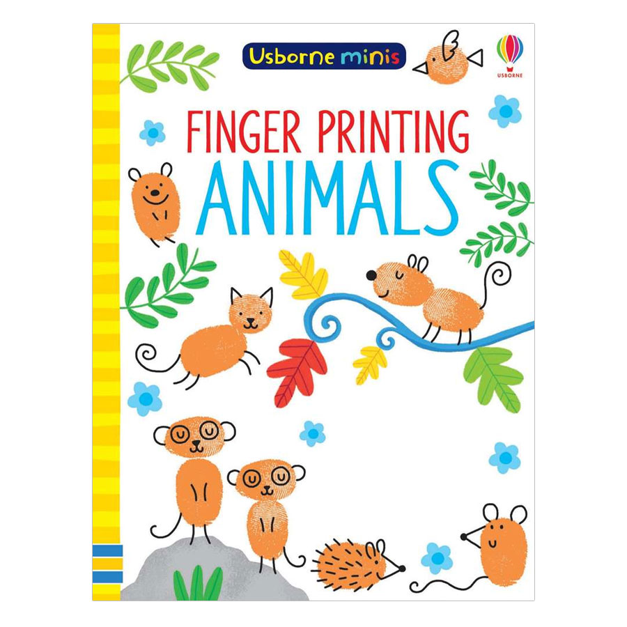 Usborne Finger Printing Animals