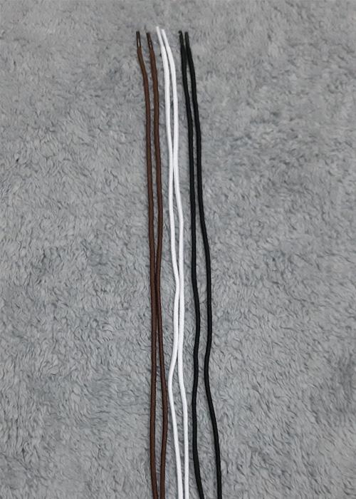 Combo 5 Cặp Dây Giày Tây Nam Dạng Tròn Bền Chắc Đẹp - TC04009