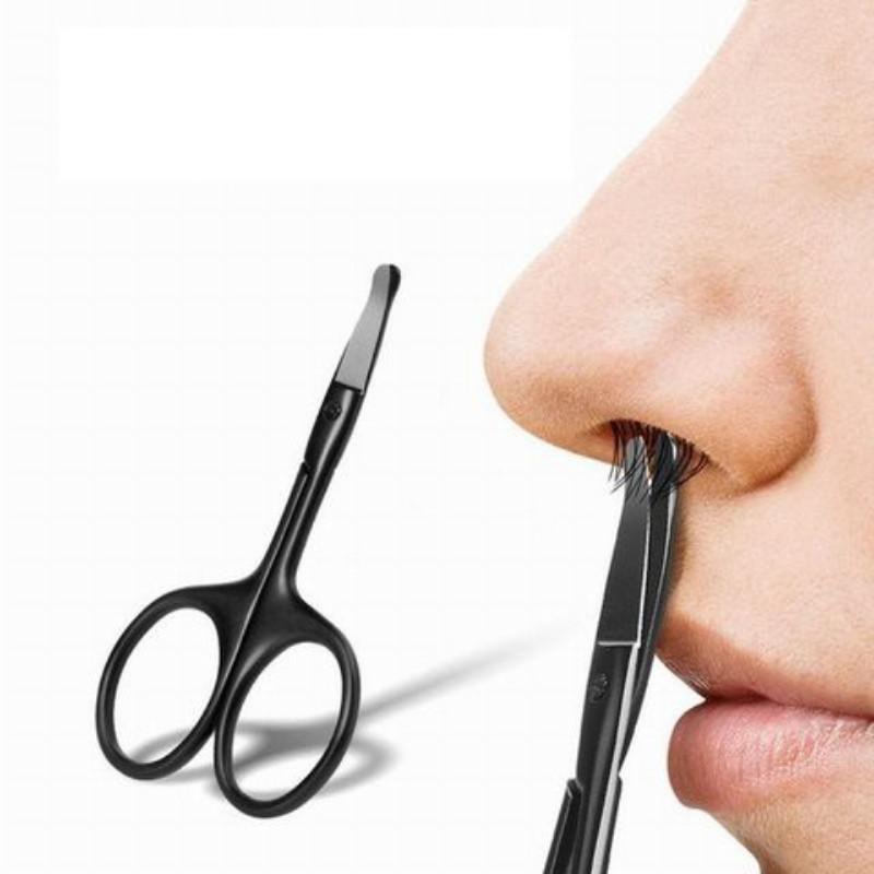 Kéo cắt tỉa lông mũi đầu bo tròn an toàn