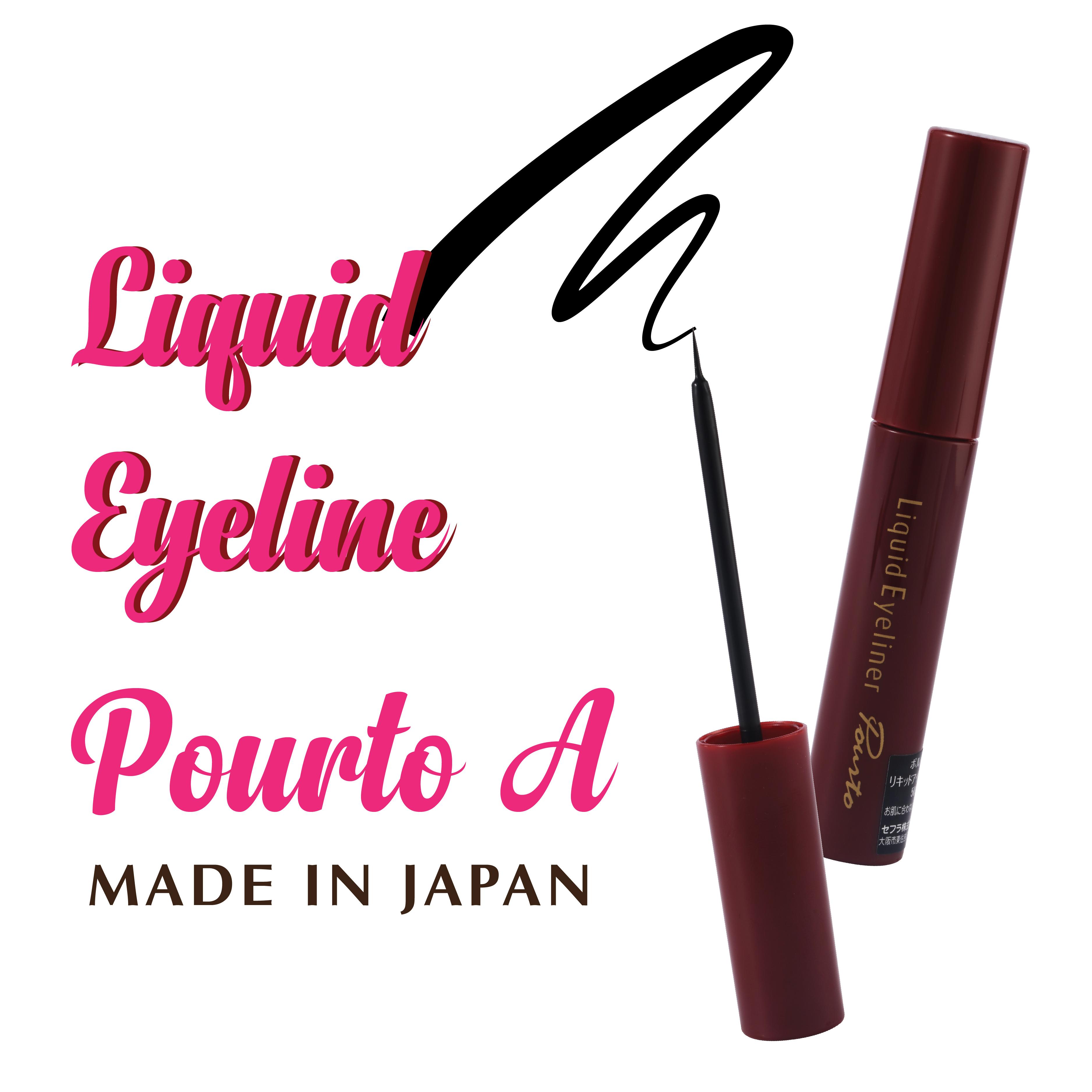 Bút kẻ mắt nước không trôi Liquid Eyeliner Pourto A Nhật Bản