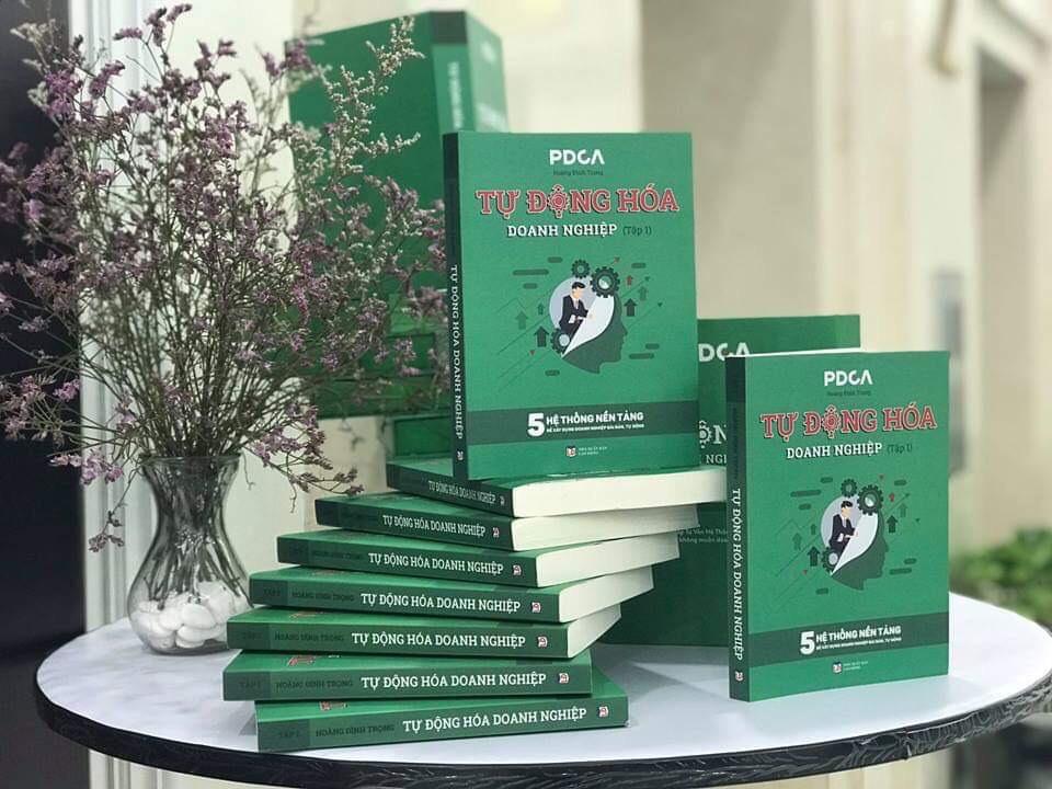 Sách Tự Động Hóa Doanh Nghiệp tập 1 ( sách lãnh đạo - Quản trị doanh nghiệp - chiến lược quản trị)/Quản trị/ Lãnh đạo